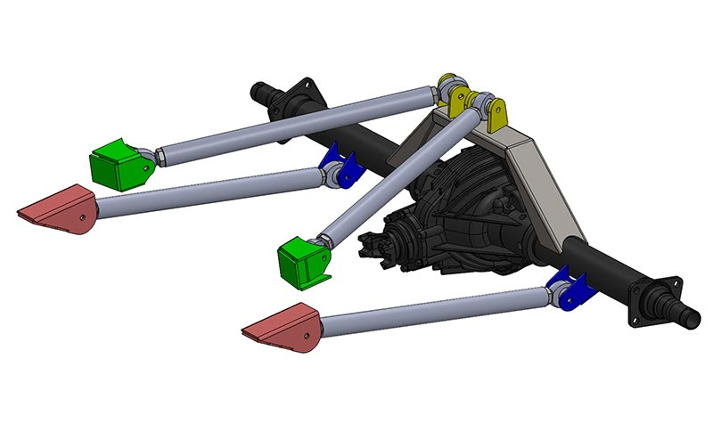 Rear Suspension: Introduction To Trailing Arms - Three